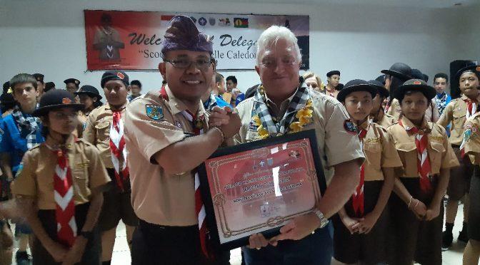 Studi Banding Pramuka 'Association of New Caledonia' di Kwarda Bali