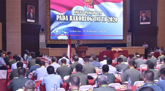 Panglima TNI Harap Dukungan Logistik Operasi TNI Lebih Optimal