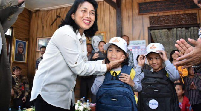 Menteri PPPA Bintang Puspayoga Dukung Kampung Ramah Anak