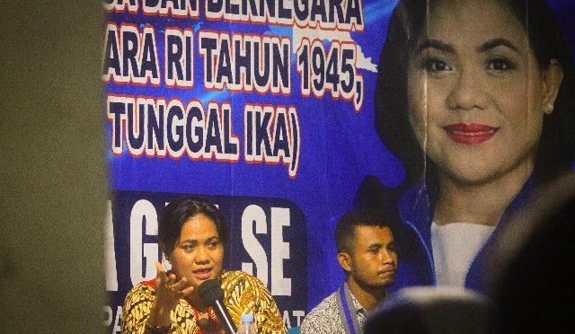 Sosialisasi 4 Pilar Kebangsaan, Anita Gah Dorong Beasiswa bagi Anggota GMKI