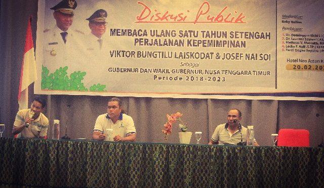Ultras Helat Diskusi Publik 'Membaca Ulang 1,5 Tahun Kepemimpinan VBL – JNS'