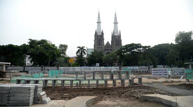 Terowongan Silaturahmi Masjid Istiqlal dan Gereja Katedral Disetujui Presiden Jokowi