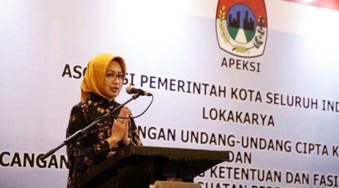 Ketua APEKSI Ajak Wali Kota se-Indonesia Sosialisasikan RUU Cipta Kerja