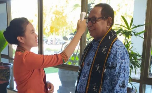 Wakil Gubernur NTT Senang Suhu Tubuhnya Normal