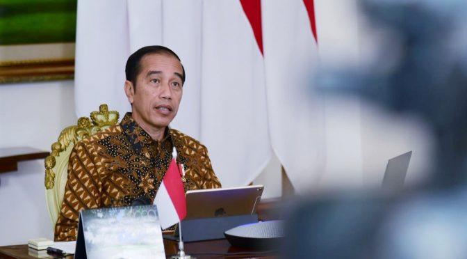 "Presiden Jokowi : ""Fokus Kita Mencegah Meluasnya Covid-19"""