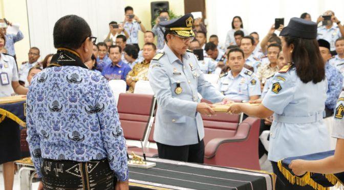 Pertama ! Srikandi Pimpin Kanwil Kementerian Hukum dan Ham NTT