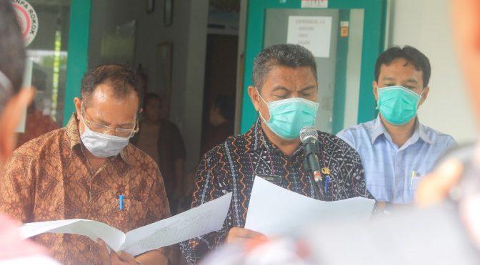'Update Covid-19 NTT' 3 Pasien Dalam Pengawasan dan 301 ODP