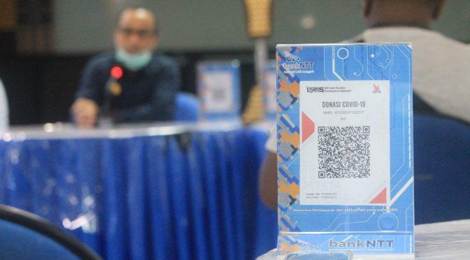 'Donasi Covid-19 Bank NTT' 275 Juta untuk Pencegahan Penyebaran Covid-19