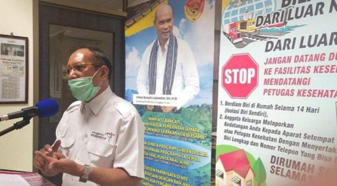 Jubir Satgas Pencegahan Covid-19 NTT: Warga Sakit Sebaiknya Jangan Pulang