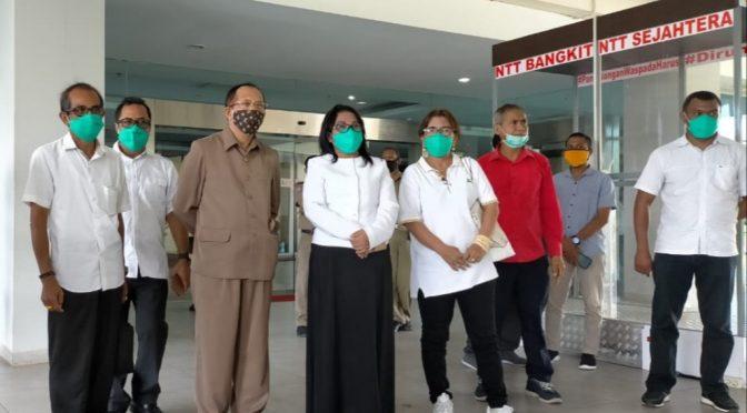 Gubernur VBL Apresiasi Bantuan Politeknik Negeri Kupang & PT Hasrat Abadi