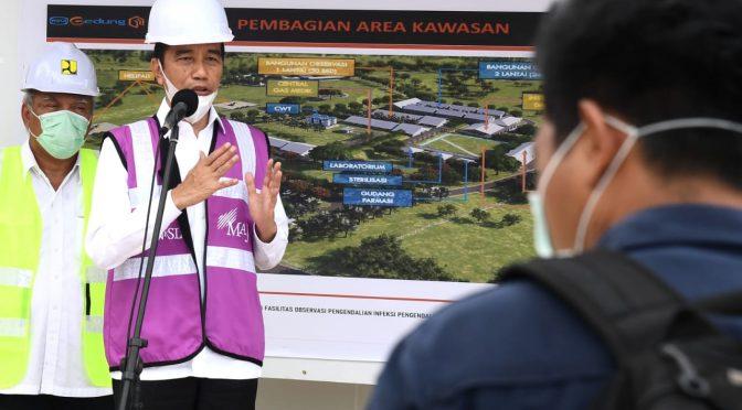 Presiden Jokowi Ajak Kerja Sama Pusat dan Daerah dalam Penanganan Covid-19