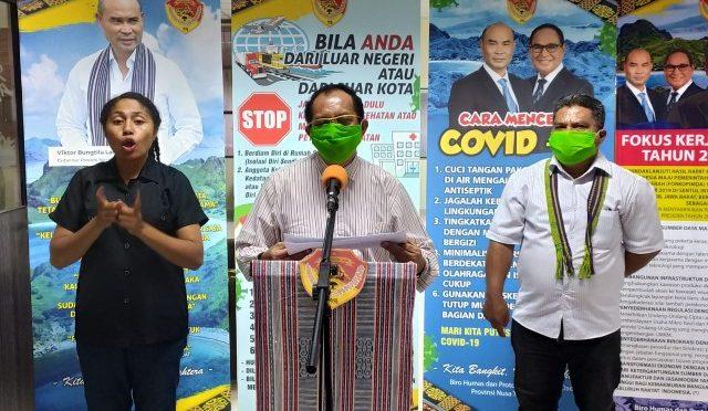Pandemi Covid-19 di NTT, Tularkan Virus Kemanusiaan Bukan 'Bullying'