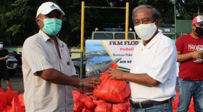 FKM Flobamora Bagikan Sembako, APD dan Masker untuk IKB NTT Jabodetabek