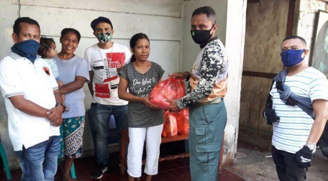 Aksi Diaspora TTS Berbagi Untuk Saudara TTS di Tengah Pandemi Covid-19