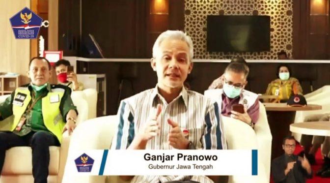 PSBB di Jawa Tengah ala Gubernur Ganjar Pranowo