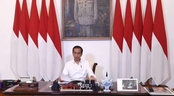Pemerintah Fokus Kendalikan Covid-19, Presiden : Kurva Harus Turun di Juli