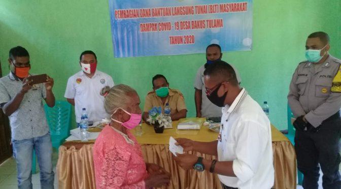 234 Kelompok Penerima Manfaat di Belu Terima BLT Dana Desa