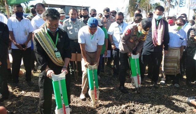 Ini Arahan dan Motivasi Menteri Pertanian bagi Petani TJPS di Desa Manusak