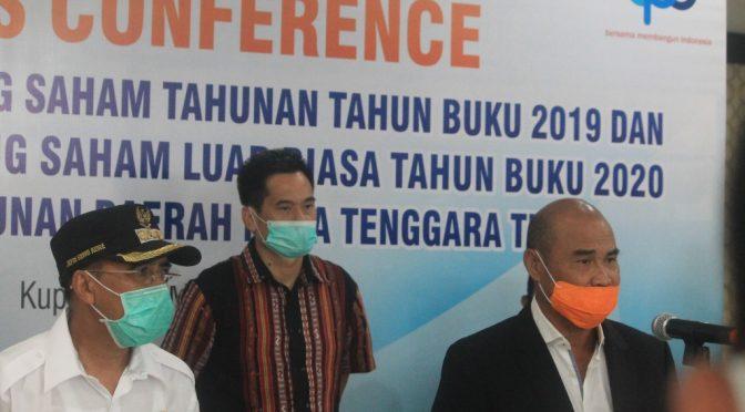 Izhak Rihi Non Aktif, RUPS Tunjuk Harry Riwu Kaho Jadi Plt. Dirut Bank NTT