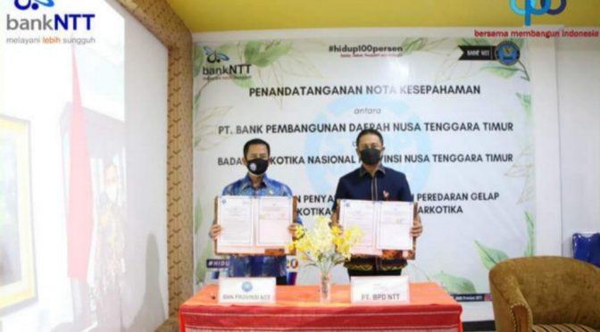 Terobosan Edukasi Stop Narkoba oleh Bank NTT, Kerja Sama dengan BNNP NTT