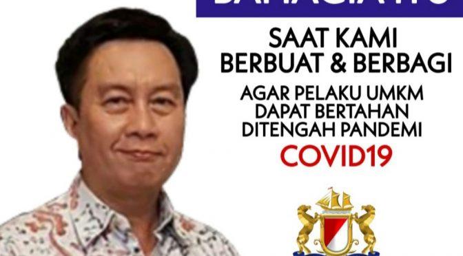 'Best Effort' Kadin Indonesia untuk Pelaku  UMKM Di Tengah Pandemi Covid-19