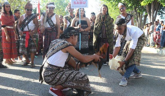 Hanya Sabu & Ngada Mencatat Ekspresi Budaya Tradisional di Kemenkumham NTT