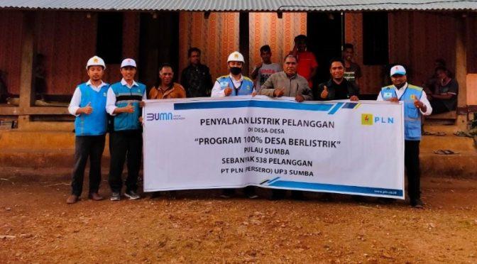 Jelang HUT Ke-75 Republik Indonesia, 12 Desa di Sumba Nikmati Listrik