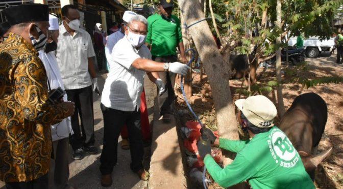 Pemkot Kupang Sumbang 20 Hewan Kurban bagi 20 Masjid Saat Idul Adha 1441H