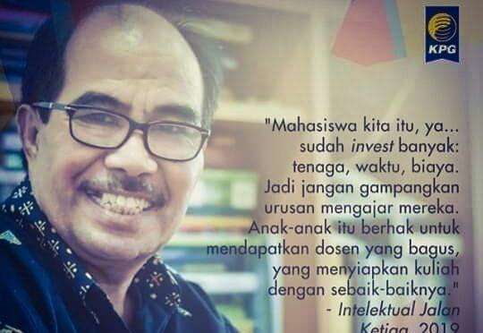 Prof. Dr. Cornelis Lay, MA. Duka Cita Bagi Guru, Sahabat, & Cendekiawan Soekarnois