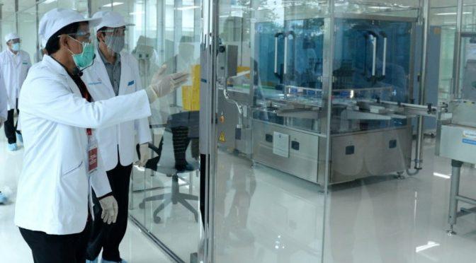 Vaksin Produksi Bio Farma, Presiden: Indonesia Mampu Produksi Vaksin Sendiri