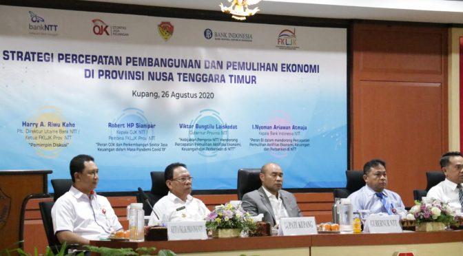 Inisiasi Pemulihan Ekonomi Daerah, Gubernur NTT : Harus Kerja Ekstra
