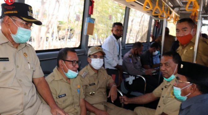 Tersedia 5 'Bus Rapid Transit' di Kota Kupang, Utama bagi Pelajar & Mahasiswa