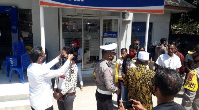 Maballa–Mahoro & Polres Sabu Kampaye Anti Covid-19 dan Berbagi Masker