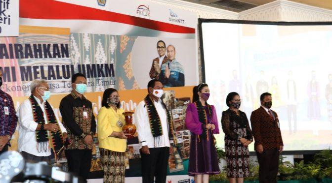 Expo Kreatif Anak Negeri 2020, Wagub Josef: Wujudkan UMKM Berdaya Saing