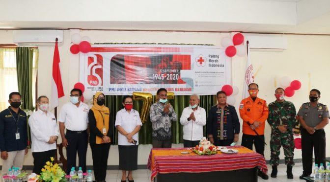 HUT Ke-75 PMI, Dokter Herman Man : PMI Kota Kupang Bangun Solidaritas Pelayanan