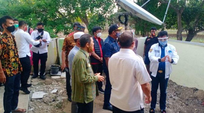 Menteri Jhonny Plate ke Labuan Bajo, Tinjau 'Super WiFi' Pertama di Indonesia