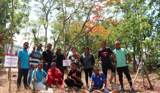 Tanam Pohon di Kota Kupang, Yeri Padji : Dipelihara Pihak Ketiga Sampai April 2021