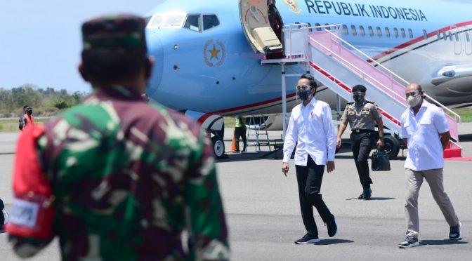 Hingga Kini Telah 13 Kali Jokowi Ke NTT, 5 Kali dalam Kepemimpinan VBL-JNS