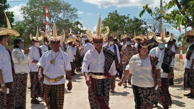Resmikan Kecamatan Loaholu, Gubernur VBL : Rote Ndao Hebat
