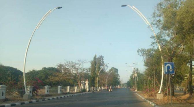 Pemkot Kupang Pasang 1.800 Lampu Jalan Baru dan Bangun Trotoar Standar Nasional