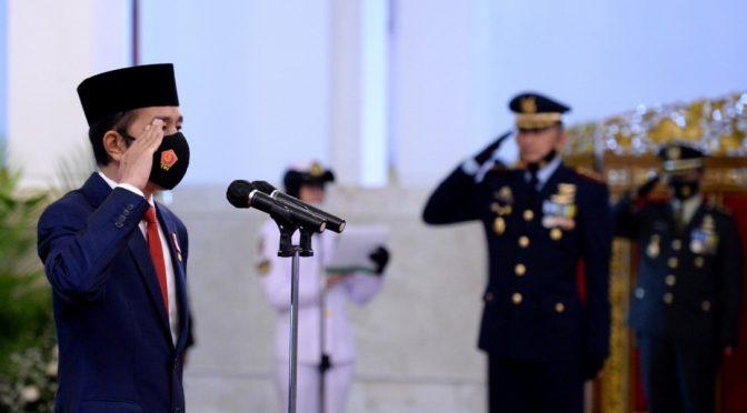 HUT Ke-75 TNI Sinergi untuk Negeri, Peringatan Minimalis di Istana Negara